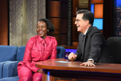 Lupita Nyong'o - The Late Show with Stephen Colbert: March 18th 2019