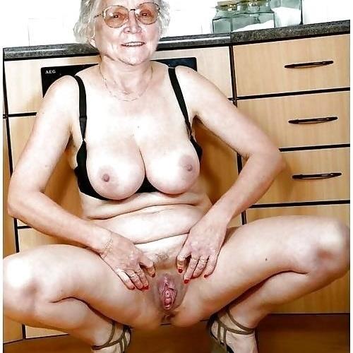 Plump older women nude