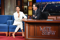 Sonequa Martin-Green - The Late Show with Stephen Colbert: January 14th 2019