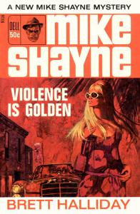 Violence Is Golden - Brett Halliday