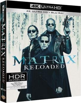 Matrix Reloaded (2003) Full Blu-Ray 4K 2160p UHD HDR 10Bits HEVC ITA DD 5.1 ENG Atmos/TrueHD 7.1 MULTI