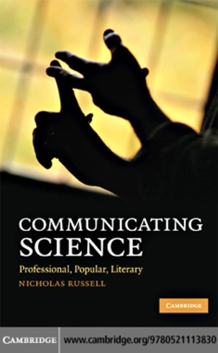 Communicating Science Professional, Popular, Literary