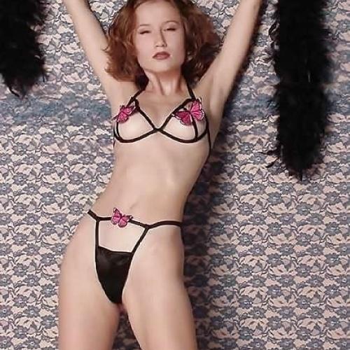 Sexy girl bra open
