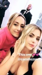Ashley Benson Busty in a Black Dress - 10/14/18 Instagram