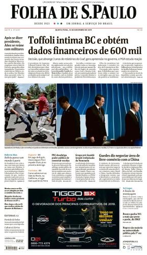 Folha de S 227 o Paulo - 14 11 (2019)