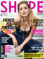 Amber Heard -         Shape Magazine (Singapore) April 2019.