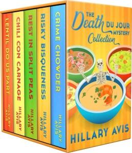 Hillary Avis   [Death Du Jour Mystery 01 04]   The Complete Death Du Jour Mystery ...