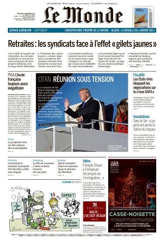 Le Monde - 04 12 (2019)