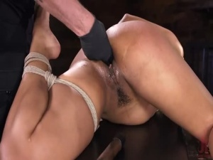 Daisy Ducati - Brutal Bondage Severe Torment And Squirting Orgasms - BDSM, Punishment, Bondage