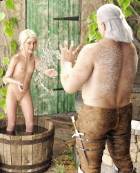 [Twitchster] Ciri's Bath