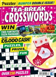 Puzzler Tea-Break Crosswords  November (2019)