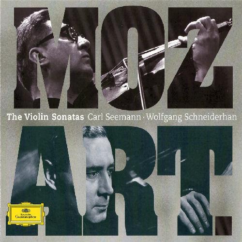 Mozart   The Violin Sonatas   Wolfgang Schneiderhan, Carl Seemann   3CDs
