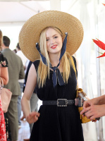 Ellie Bamber -                             Audi Polo Challenge Coworth Park Polo Club England June 30th 2018.