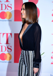 Myleene Klass -                38th Brit Awards O2 Arena London February 21st 2018.