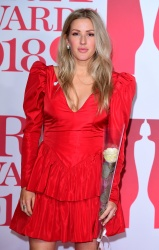 Ellie Goulding - 38th Brit Awards at the O2 Arena in London 2/21/18