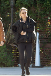 Kaley Cuoco - Leaving the Sun Cafe in Los Angeles 02/06/2019