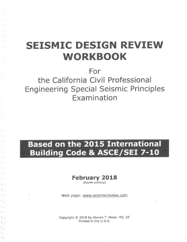 The Seismic Design Review Workbook