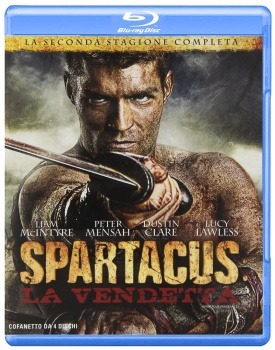 Spartacus - La vendetta - Stagione 2 (2012) [4-Blu-Ray] Full Blu ray 166Gb AVC ITA ENG FRE GER SPA DTS-HD MA 5.1