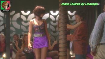 Joana Duarte sensual na novela Anjo Meu