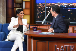 Tamron Hall - The Late Show with Stephen Colbert: January 16th 2020