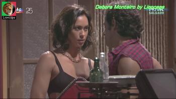 Debora Monteiro sensual na novela Mar Salgado