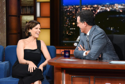 Neve Campbell - The Late Show with Stephen Colbert: July 10th 2018