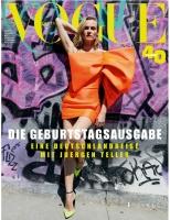 Diane Kruger -       Vogue Magazine (Germany) October 2019.