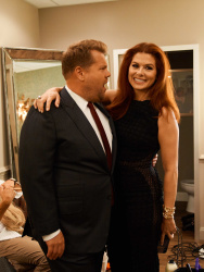 Debra Messing - The Late Late Show with James Corden: July 26th 2018