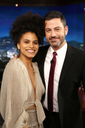 Zazie Beetz - Jimmy Kimmel Live: May 2nd 2018
