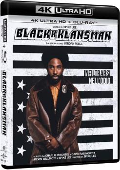 BlacKkKlansman (2018) Full Blu-Ray 4K 2160p UHD HDR 10Bits HEVC ITA FRE DD Plus 7.1 ENG Atmos/TrueHD 7.1