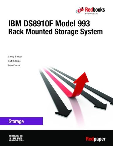 IBM DS8910F Model 993 Rack Mounted Storage System