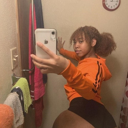Black girl fat butt