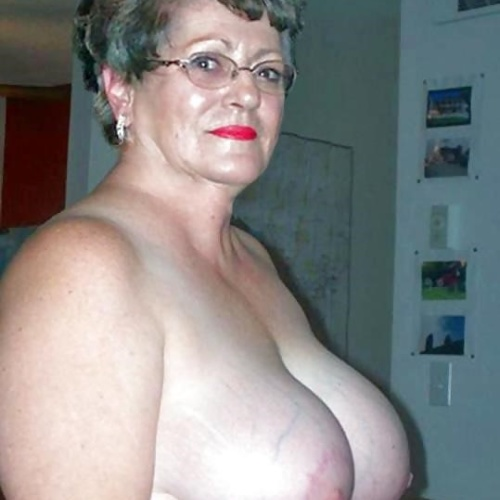 Nude shaved older women