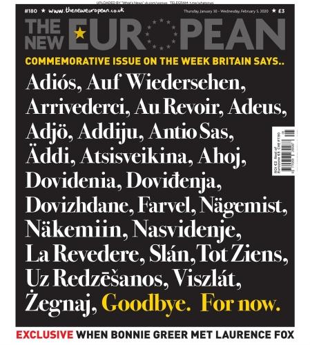The New European - 05 02 (2020)