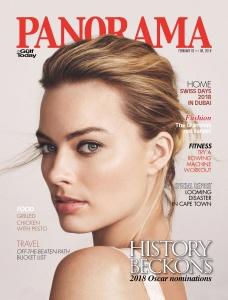 Margot Robbie -         Panorama Magazine (Middle East) February 2018.