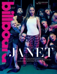 Janet Jackson -                      	Billboard Magazine May 19th 2018.