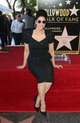 Sarah Silverman - Honored With Star On The Hollywood Walk Of Fame 11/9/18