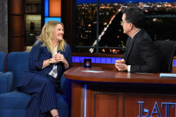 Drew Barrymore - The Late Show with Stephen Colbert: March 19th 2018