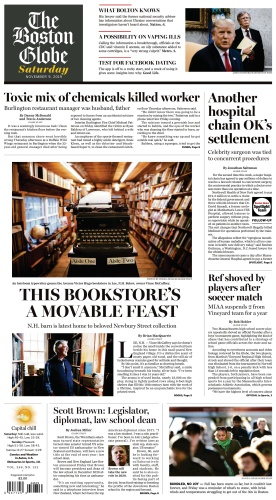 The Boston Globe - 09 11 (2019)