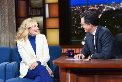 Beth Behrs - The Late Show with Stephen Colbert: April 19th 2019