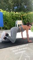 Eva Longoria - Butt Workout 6/5/2020