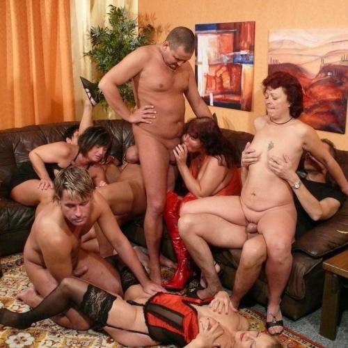 German mature party