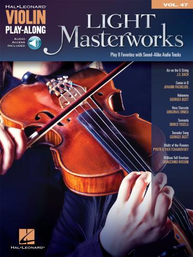 Light Masterworks Violin Play Along Volume 47 (2014)