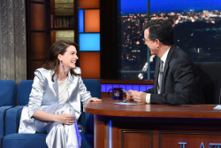 Anne Hathaway - The Late Show with Stephen Colbert: May 7th 2019