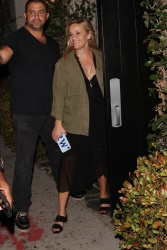 Reese Witherspoon - Leaves Lucques Restaurant in Hollywood 8/10/18