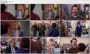 "MEGAN MULLALLY *lingerie* - Parks & Rec - ""Ron and Jammy"" 2015"