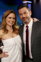 Jenna Fischer - Jimmy Kimmel Live: April 2nd 2018