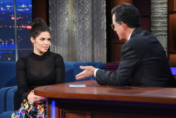 America Ferrera - The Late Show with Stephen Colbert: January 3rd 2018