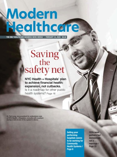 Modern Healthcare  February 24 (2020)