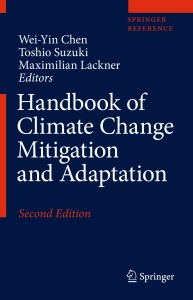 Handbook of Climate Change Mitigation and Adaptation, 2nd Edition